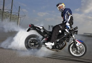 Stunt Riding: Chris Pfeiffer sotto i riflettori di Monza