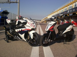 Kymco Agility RS, il nuovo scooter creato insieme a Bmw