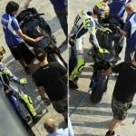 Valentino Rossi Misano infortunio Ducati (5)