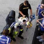 Valentino Rossi Misano infortunio Ducati (9)