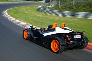 KTM X-BOW R 2011, immagini del prototipo sportivo