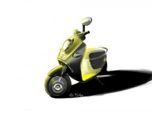 MINI, scooter elettrico al Salone Internazionale dell'Automobile di Parigi