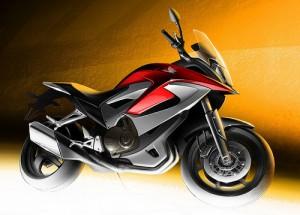 Honda VFR Adventure Bike Concept, il secondo teaser