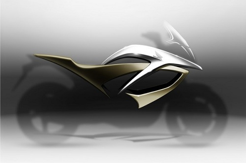 Honda VFR concept all'Eicma 2010, teaser ufficiale