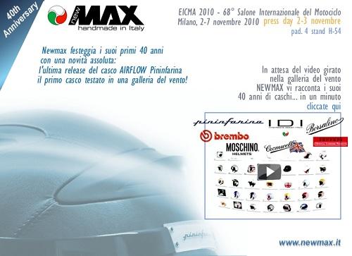 Newmax Airflow Pininfarina all'Eicma 2010