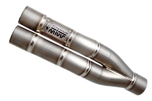 MIVV Double Gun, nuovo scarico sportivo a doppia canna