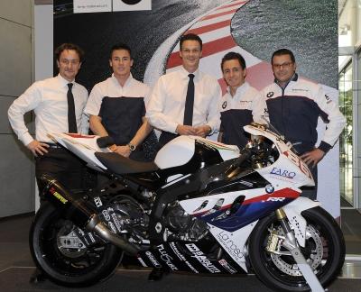 BMW Motorrad Italia presenta il Superbike Team per l'anno 2011