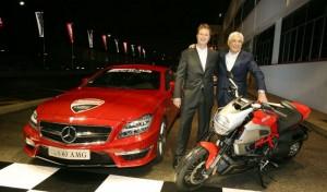 Motor Show 2010: Ducati e AMG insieme nello stesso stand Mercedes