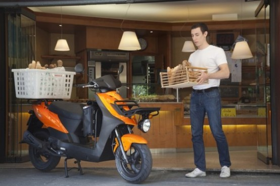 Kymco Agility Carry 50, scooter pronto a tutto