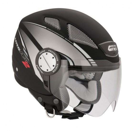 Givi rinnova il look al casco Demi-jet 10.4 Air 2