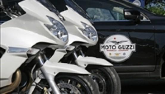 Raid Norge 2011, Moto Guzzi a Capo Nord