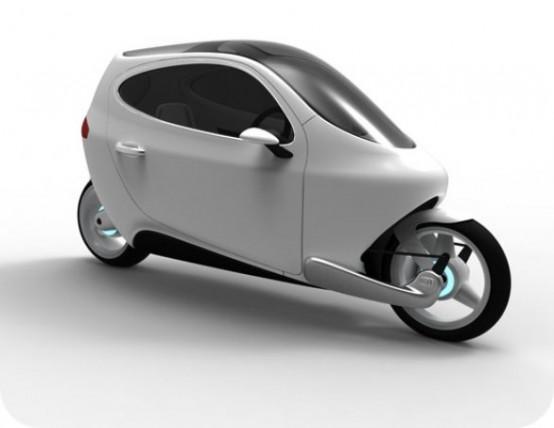Lit Motors C1, l'evoluzione dello scooter