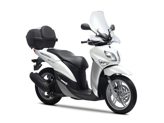 Yamaha Xenter 125 e 150 MY 2012