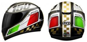 Thunder Italia, il casco integrale di MT Helmets per i 150 anni dell'unità