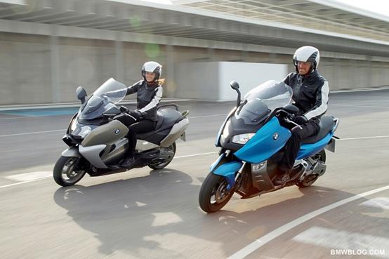 Ecco gli  scooteroni di BMW