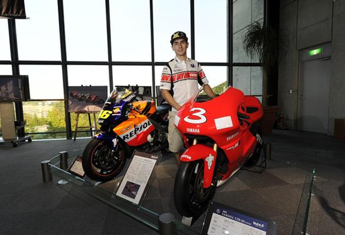 Lorenzo e Spies all'International MotoXpo