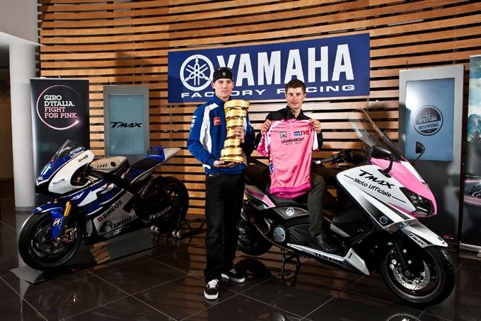 Yamaha TMAX 530, moto ufficiale del Giro d'Italia