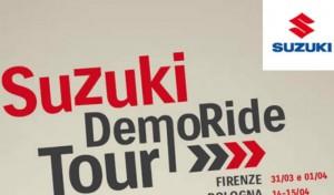 Suzuki Demo Ride Tour fa tappa a Roma