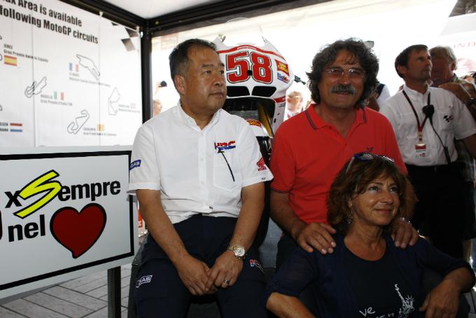 Honda Italia e Honda Auto in pista ricordando Simoncelli