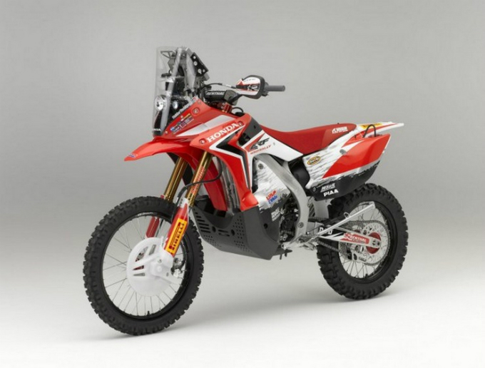 Eicma 2012 – Ci sarà anche la Honda CRF450 Rally