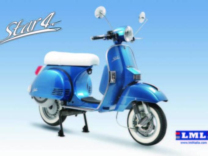 Eicma 2012 – Ecco la gamma di scooter Star 4T by LML