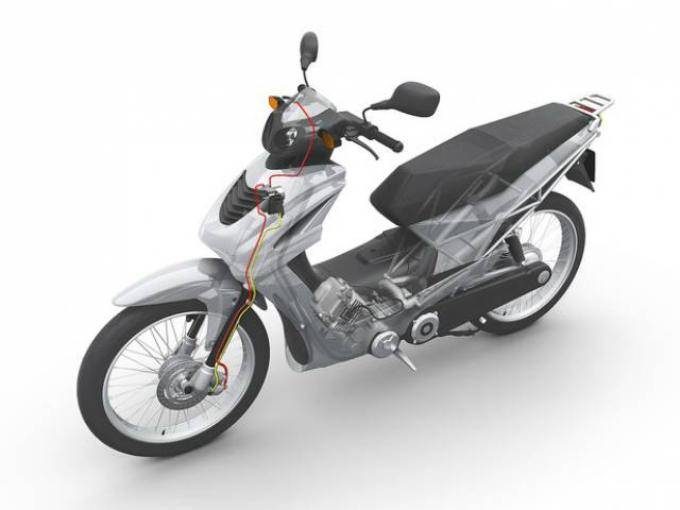 Bosch sviluppa l'ABS per la ruota anteriore dei motocicli