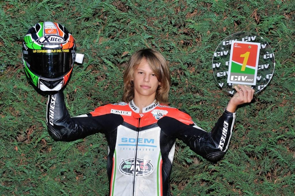 Intervista esclusiva a Nicolò Bulega, campione italiano 125 PreGP