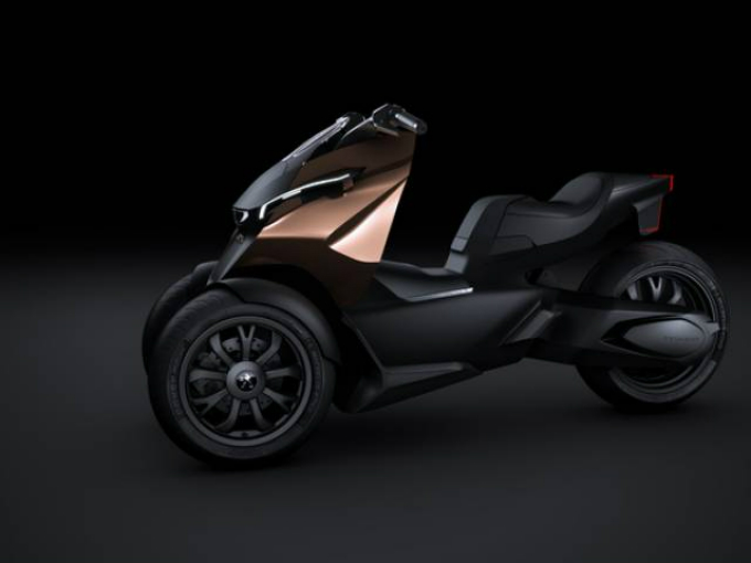 Peugeot propone Concept Scooter Onyx