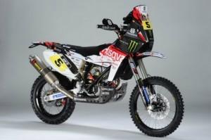 Dakar 2013 – Ci sarà anche la nuova Husqvarna TE449 RR by Speedbrain