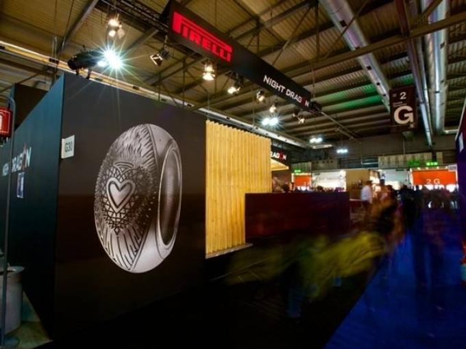 Eicma 2012 – Pirelli lancia gli pneumatici tatuati