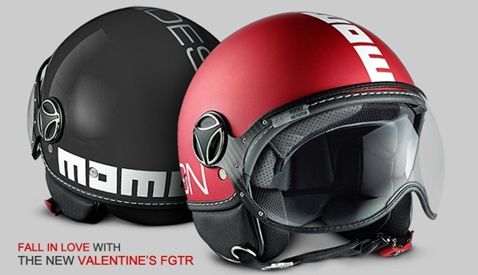 Un casco per San Valentino by Momodesign