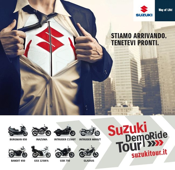 Torna il Suzuki Demo Ride Tour