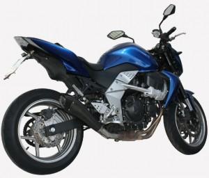 Exan e il nuovo X-BLACK Evo per la Kawasaki Z 750