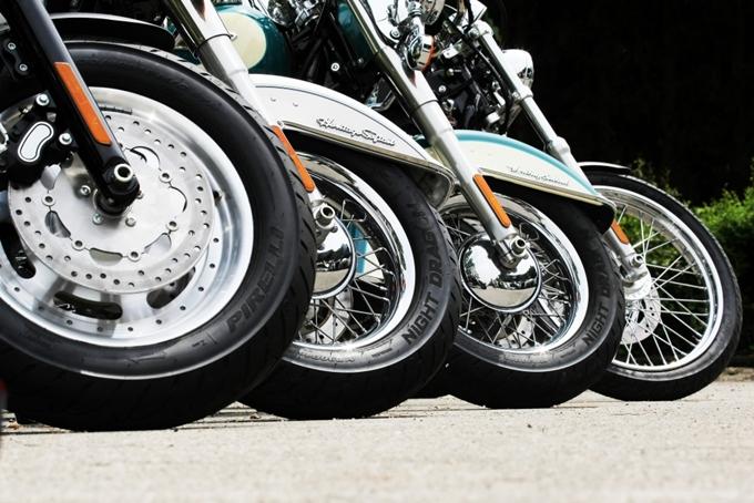 Pirelli festeggia il 110° anniversario di Harley Davidson