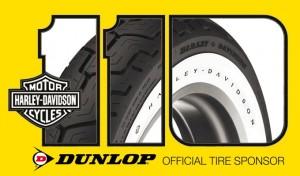 110 anni di Harley Davidson, Dunlop sponsor ufficiale