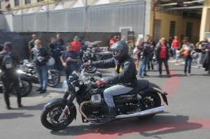 Weekend di successo per la Open House Moto Guzzi