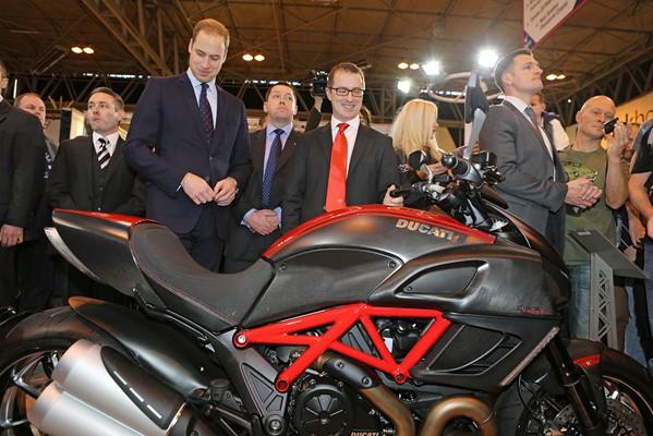 Ducati Principe William 2013