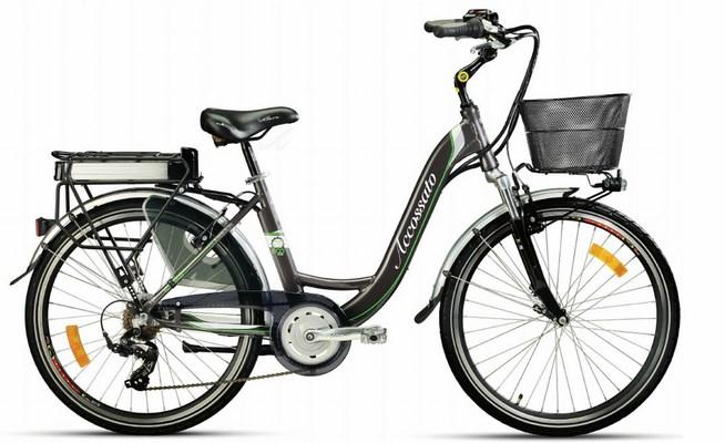 Minerva la prima bici elettrica di accossato for Bici pieghevole elettrica usata