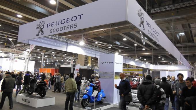 Motodays 2014 – A Roma tutte le novità Peugeot Motorcycle
