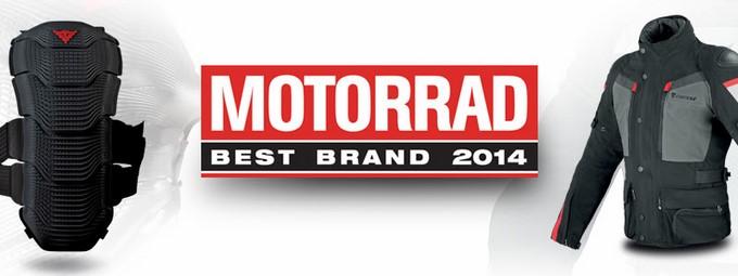 Dainese in Germania è stato eletto Best Brand 2014