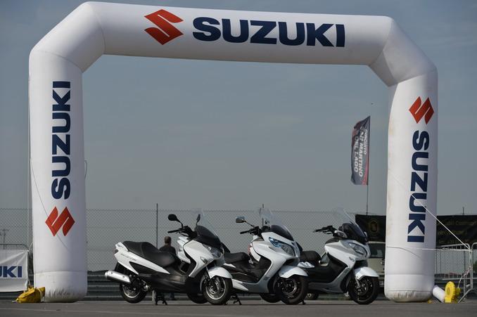 Suzuki Burgman Family Day 2014