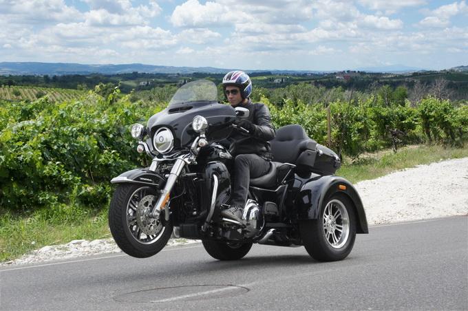 Harley Davidson Tri Glide 2014 Prova Su Strada