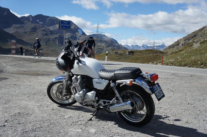 Honda CB1100 EX – prova su strada 2014