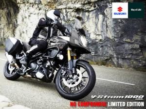Nuova V-Strom 1000 ABS No Compromise Limited Edition: Suzuki sfida ancora le maxi enduro