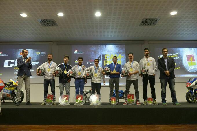 Campionati italiani velocita', all'EICMA 2014 in scena tante premiazioni
