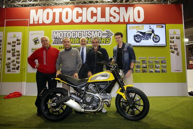 """Scrambler Ducati, la """"Moto più bella"""" dell'EICMA 2014"""