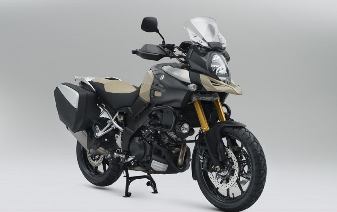 Suzuki V-Strom 1000 Desert Edition, anteprima d'eccezione al NEC di Birmingham