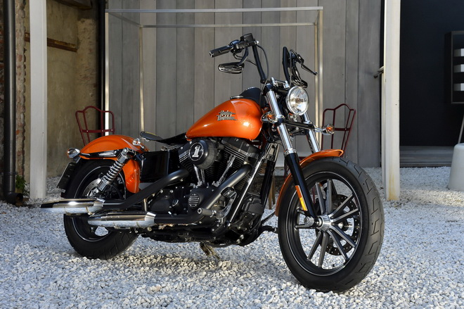 Harley Davidson Dark Custom 2015
