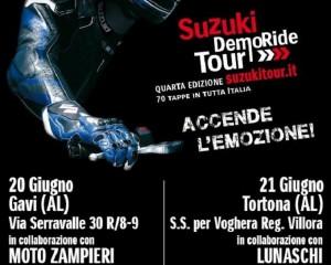 Suzuki DemoRide Tour 2015, è la volta di Asti, Pavia e Alessandria