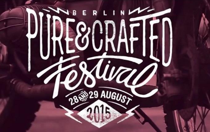 BMW Motorrad presenta il Pure&Crafted Festival 2015 di Berlino [VIDEO]